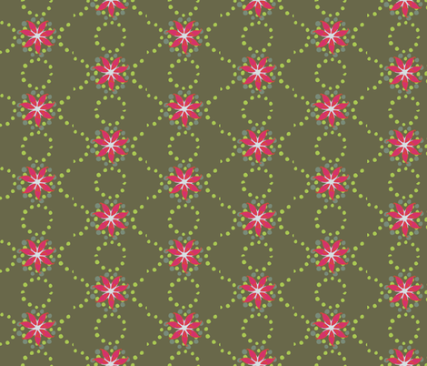 Tropical Cactus Flower fabric by colour_angel_by_kv on Spoonflower - custom fabric