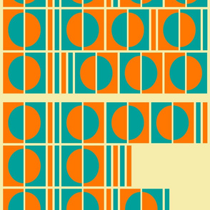 complex Vasarely inspired code pattern