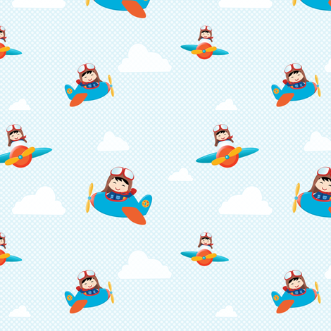 Aviator fabric by witee on Spoonflower - custom fabric
