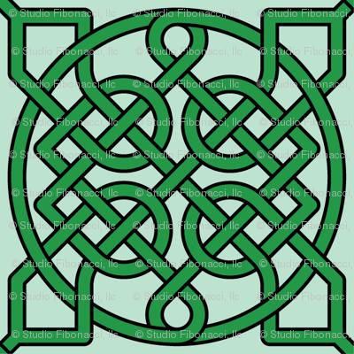 Celtic Knot (39 crossings) -- 4inch