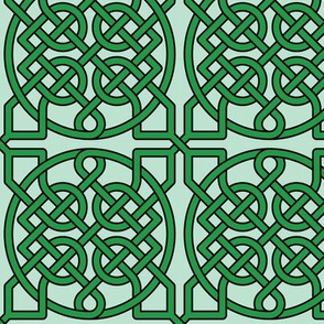 Celtic Knot (39 crossings) -- 4inch