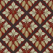 Rrtile_repeat_45_deg_diamond_shape_red_bg_pale_green_leaves_shop_thumb