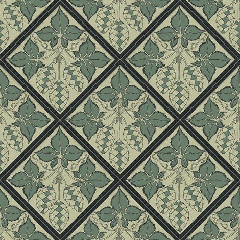 Rrtile_repeat_45_deg_diamond_shape_pale_green_bg_dk_green_leaves_shop_preview