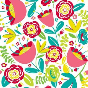 Gabby - Colorful Summer Floral