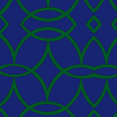Blue_Emerald_Vidrio fabric by mdtextiles on Spoonflower - custom fabric