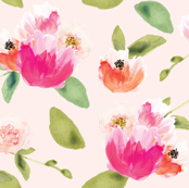 Gatsby Peonies on Pink