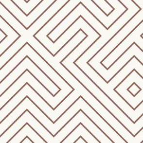 tribal_maze_copper_on_cream