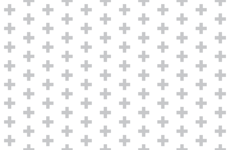 Grey Crosses on White - Grey Plus Sign fabric by modfox on Spoonflower - custom fabric