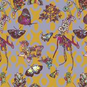 Ghana Butterfly Garden Background