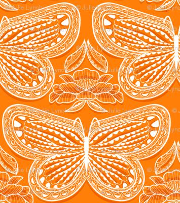 Butterfly Tonal Orange