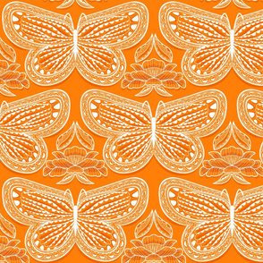 Butterfly Tonal Orange