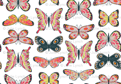 Painted Butterflies