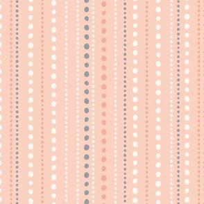 Spring Tea Garden Pink Dots