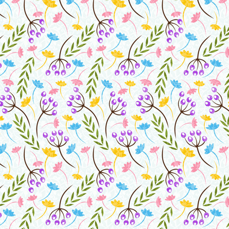 lizard-white-collection2 fabric by gaiamarfurt on Spoonflower - custom fabric