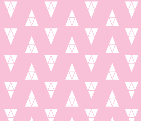 Haven's Triangle fabric by ep_designhouse on Spoonflower - custom fabric