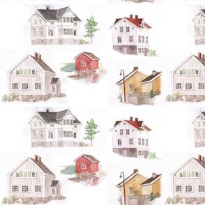 norwegian houses traditional five