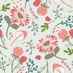 Wild Springtime Flora