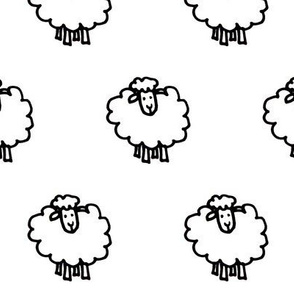 Sheep2-White