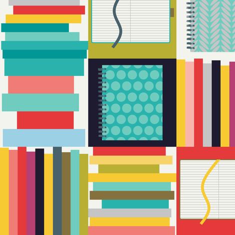 book joy fabric by scrummy on Spoonflower - custom fabric