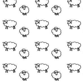 Sheep3-White