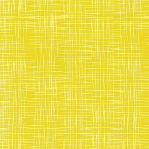 Faux Linen - Yellow