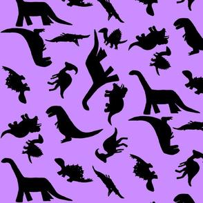 Dino Polka large light purple