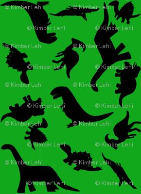 Dinos large green