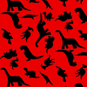 Dinos large red