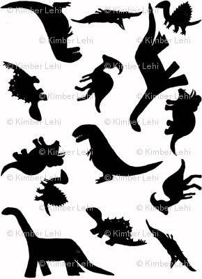 Dinos large white