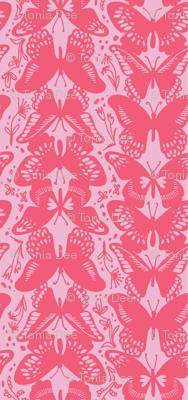 Flutter By, Butterflies - Pinks