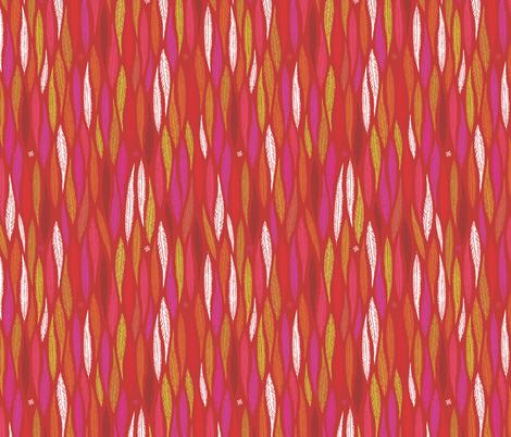 Autumn Celebrations - Blazing Reds fabric by tonia_dee on Spoonflower - custom fabric