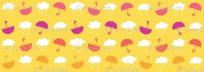 Umbrellas - Yellow - Small