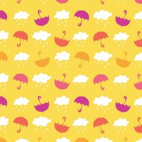 Umbrellas - Yellow - Small