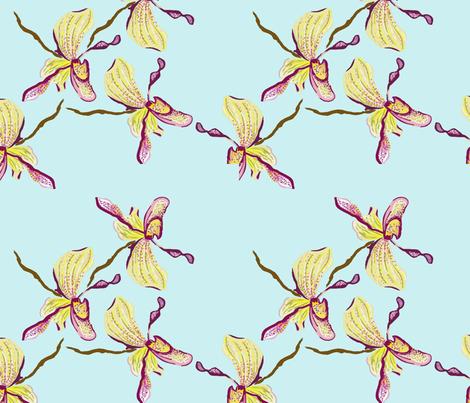classic_orquid fabric by amanda_hippert-textiles on Spoonflower - custom fabric