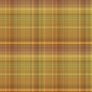 Brown and Ochre Plaid
