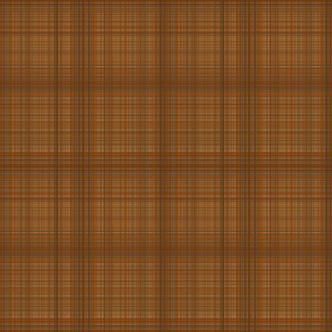 Brown Plaid fabric by gingezel on Spoonflower - custom fabric