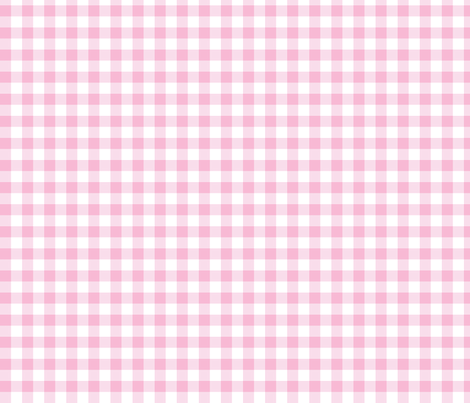 "1/2"" Gingham - Light Pink fabric by seweccentric on Spoonflower - custom fabric"