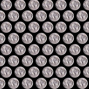 Buffalo Nickel Polka Dots