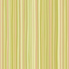 Garden Nouveau  Stripes yellow