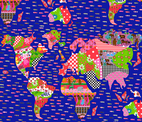 Global Swatches fabric by orangefancy on Spoonflower - custom fabric