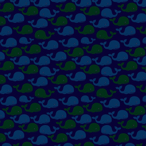 Whale-Pattern-2-BlueBKGD