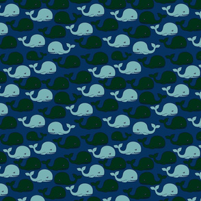 Whale-Pattern-3-MidBlueBKGD