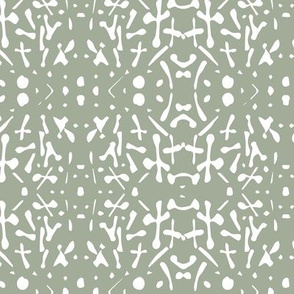Sage green abstract