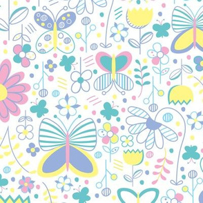 Butterfly Floral (Reduced)