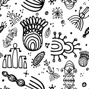 Doodles B&W