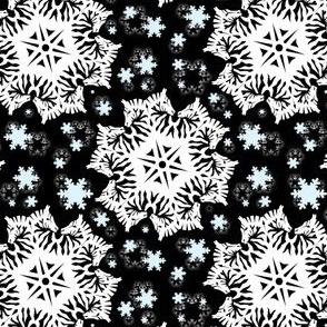 Zebra Snowflakes
