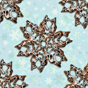 Calico Catflakes with Background