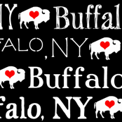 Buffalo, NY (Red Hearts)