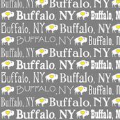 Buffalo, NY (Gray & Yellow)