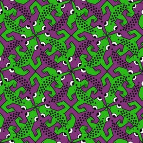 Tessellating lizard
